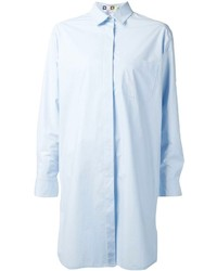 MSGM Loose Fit Shirt Dress
