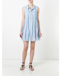 N°21 N21 Pleated Trim Day Dress