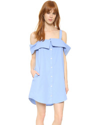 Off the shoulder shirtdress medium 633975