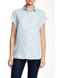 Beach Lunch Lounge Bella Short Sleeve Chambray Shirt