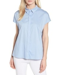 Ming Wang Cap Sleeve Blouse