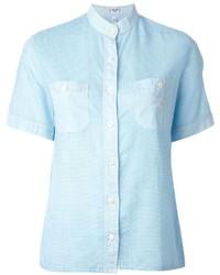 Celine Cline Vintage Check Pattern Shirt