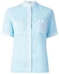 Cline vintage gingham check shirt medium 583991