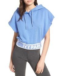 Ivy Park Backless Short Sleeve Hoodie