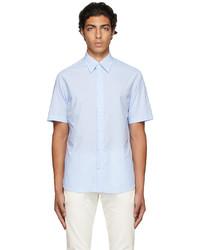 Dunhill Blue D Series Short Sleeve Shirt
