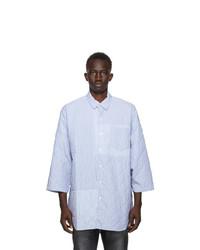 Neighborhood Blue Quilt S C Shirt