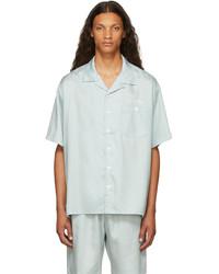 Saintwoods Blue Resort Short Sleeve Shirt