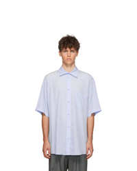Balenciaga Blue Short Sleeve Shirt