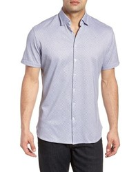 Stone Rose Contemporary Fit Geo Tech Sport Shirt
