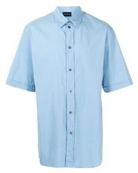 Emporio Armani Embroidered Logo Short Sleeved Shirt