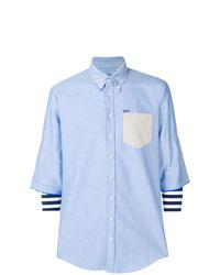 DSQUARED2 Layered Chambray Shirt