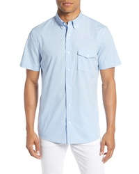 Nordstrom Men's Shop Nordstrom Fit Micro Dot Shirt