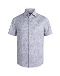 Bugatchi Regular Fit Knit Short Sleeve Shirt