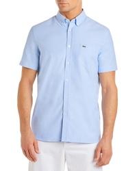 Lacoste Regular Fit Short Sleeve Cotton Sport Shirt