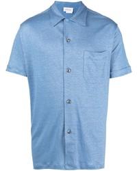 Brioni Short Sleeved Button Up Shirt