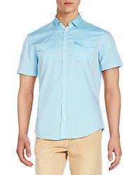 Calvin Klein Slim Fit Cotton Sportshirt