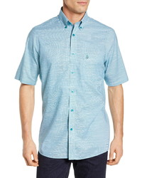 Nordstrom Men's Shop Smartcare Regular Fit Cotton Sport Shirt
