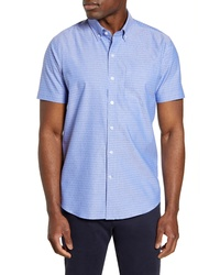 Cutter & Buck Strive Three Bars Short Sleeve Sport Shirt