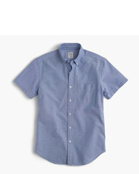 J.Crew Tall Short Sleeve Oxford Shirt