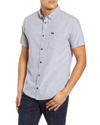 RVCA Thatll Do Solid Short Sleeve Shirt