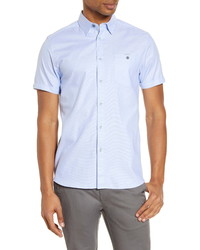 Ted Baker London Yesso Short Sleeve Button Up Shirt