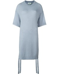 Light Blue Short Sleeve Sweater