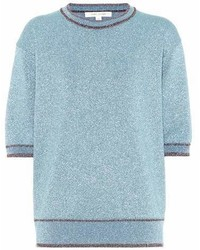 Marc Jacobs Glitter Short Sleeved Sweater