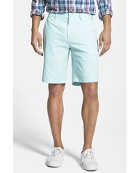 River Island Light Blue Rolled Up Chino Shorts | Where to buy ...