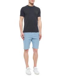 Joe's Jeans Brixton Woven Trouser Shorts Light Blue | Where to buy ...