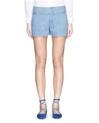 Alice + Olivia Cady Polka Dot Jacquard Shorts