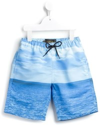 Finger In The Nose Goodboy Seascape Swim Shorts