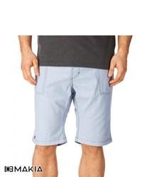 Makia Reversible Shorts Light Blue