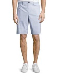Original Penguin Micro Horizontal Cotton Blend Shorts Crystal Blue