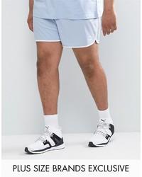 Puma Plus Retro Mesh Shorts In Blue To Asos