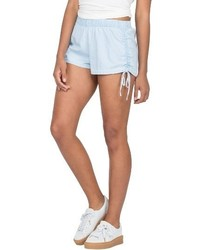 Volcom Ruched Chambray Shorts