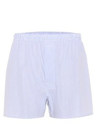 Maison Margiela Striped Cotton Shorts