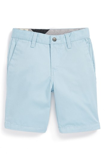 Volcom Modern Chino Shorts Light Blue 4 | Where to buy & how to wear