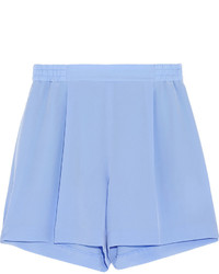 Stella McCartney Zanda Silk Crepe De Chine Shorts