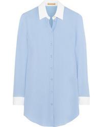 Michl kors silk georgette shirt medium 71014
