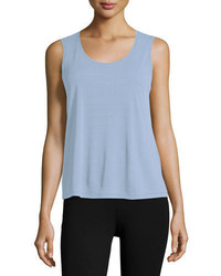 Eileen Fisher Silk Jersey Tank Top Plus Size