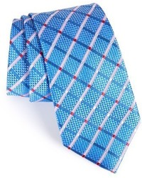 Diamond grid silk tie medium 3685164