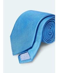 Mango Outlet Textured Silk Tie