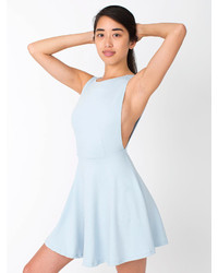 American apparel ponte sleeveless skater dress medium 283688