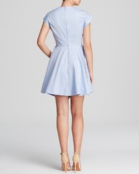 Tibi Dress Satin Poplin Fit And Flare | Where to buy & how to wear