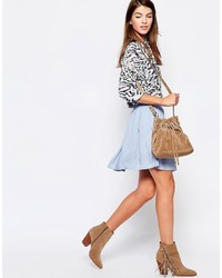 Glamorous Mini Skater Skirt