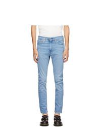 Levis Blue 510 Skinny Fit Flex Jeans