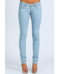 Boohoo Clare Wow Bleach Super Skinny Jeans