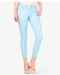 Forever 21 Colored Zippered Skinny Jeans