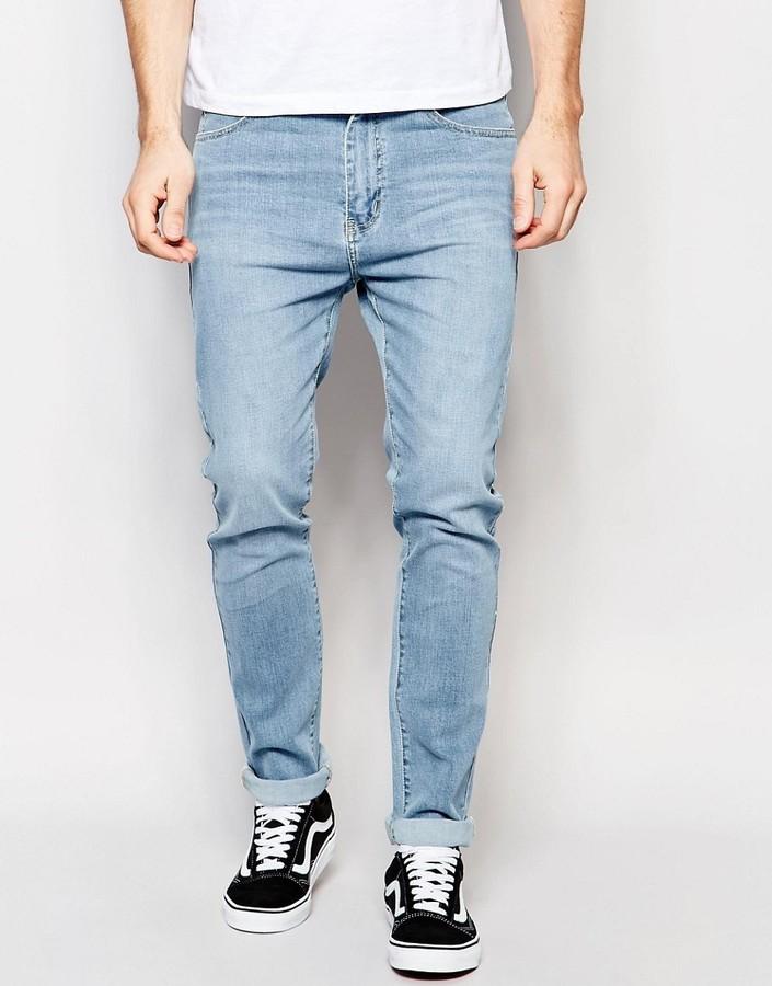 8d996fb2a688fd Dr. Denim Dr Denim Snap Skinny Jeans Light Wash Blue, $81   Asos ...