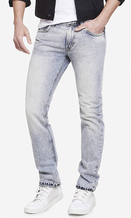 Express Rocco Slim Fit Skinny Leg Jean | Where to buy & how to wear